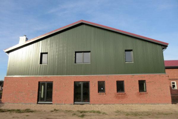 Altbausanierung eines landwirtschaftlichen Gebäudes